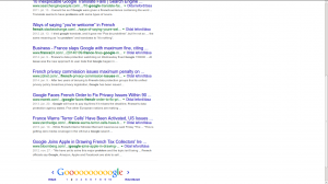 Google search results as seen now - would a Bing link affect you that much?