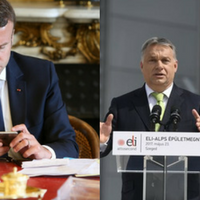 Orbán v. Macron: central force field